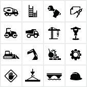 Heavy Construction Icons