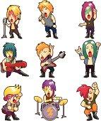 Heavy metal music band