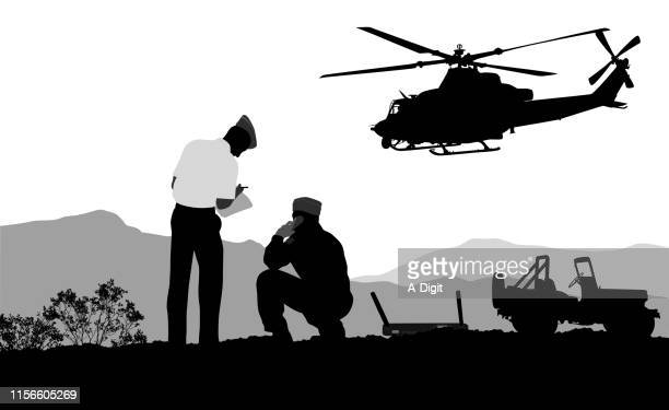 helicopter san diego - army training stock illustrations