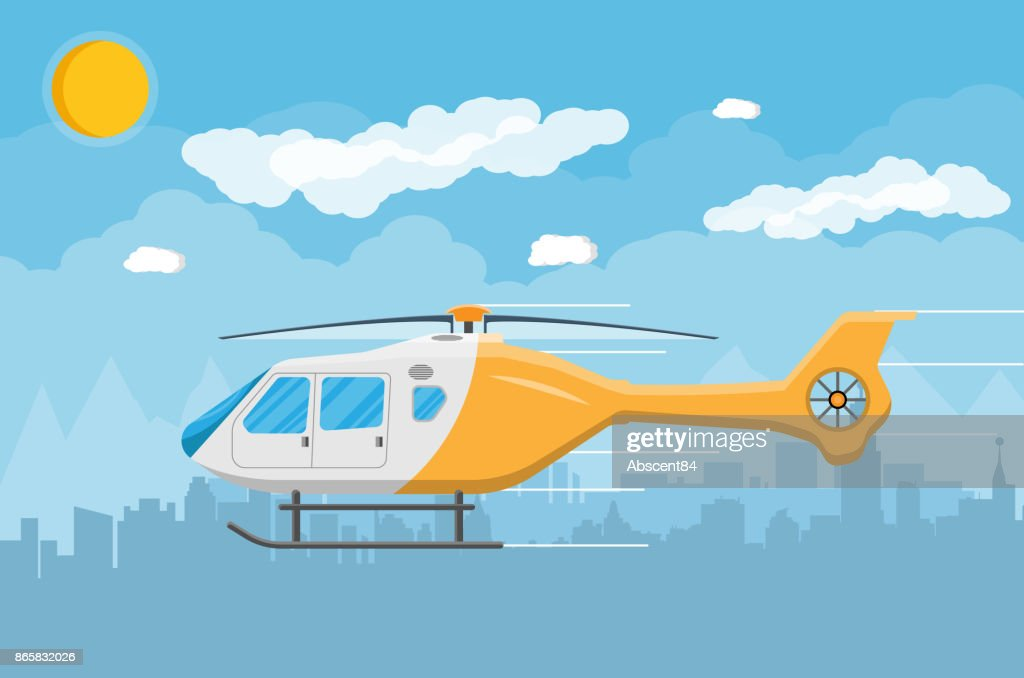 Helicopter transport aerial vehicle with propeller