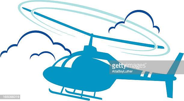 helicopter - looking at view stock illustrations, clip art, cartoons, & icons