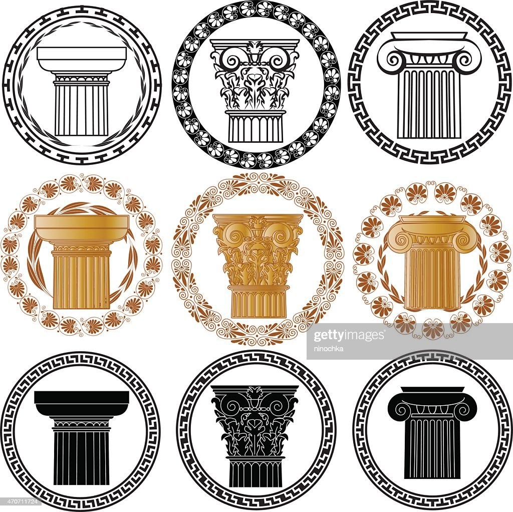 hellenic columns