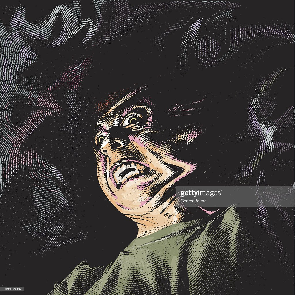 Demonio infernal : Arte vectorial