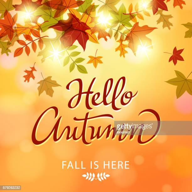 Hello Autumn Leaves
