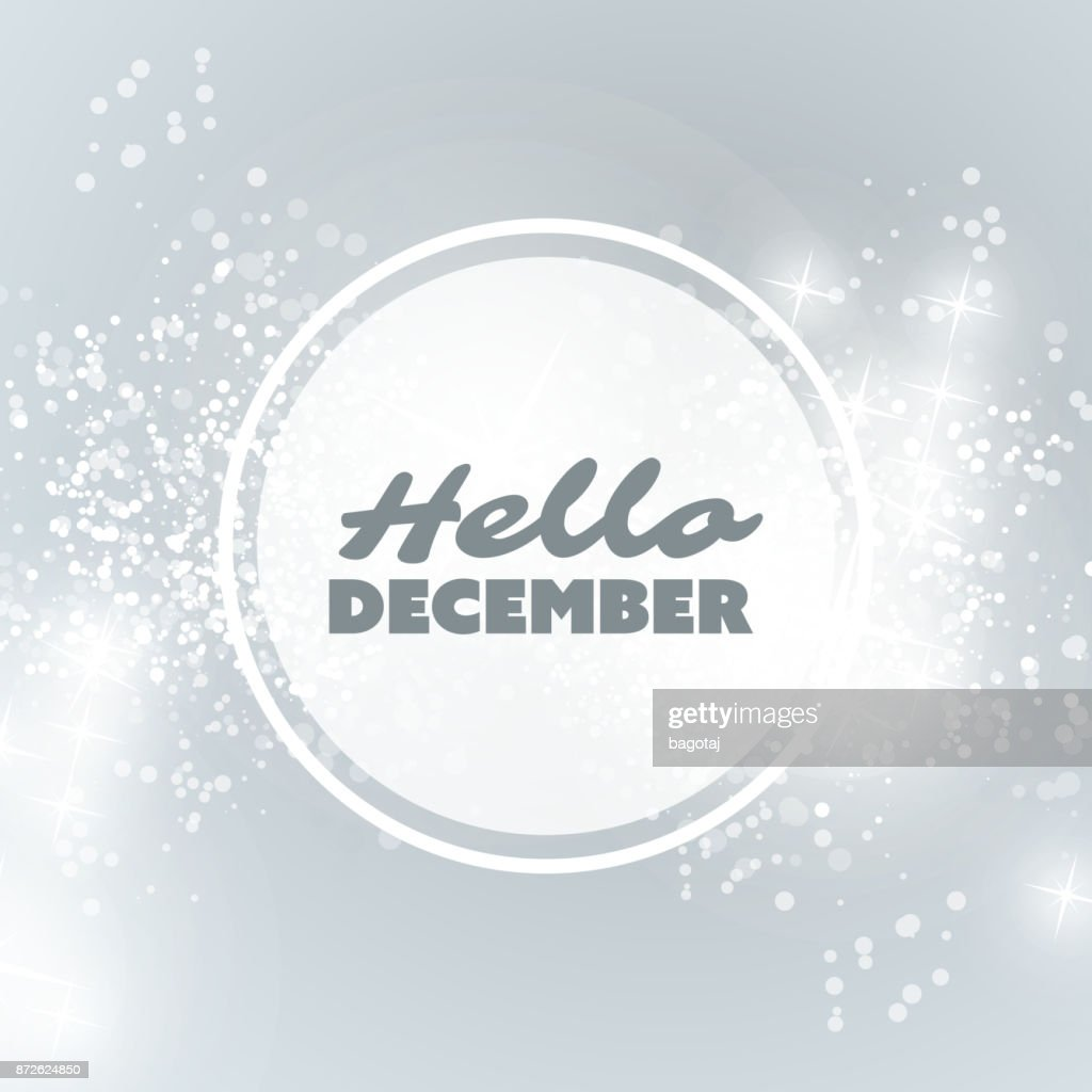 Hello December - Winter Concept