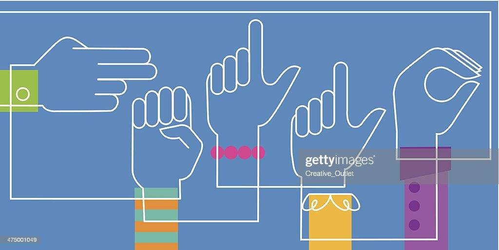 Hello Sign Language
