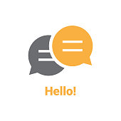 Hello Speech Bubble