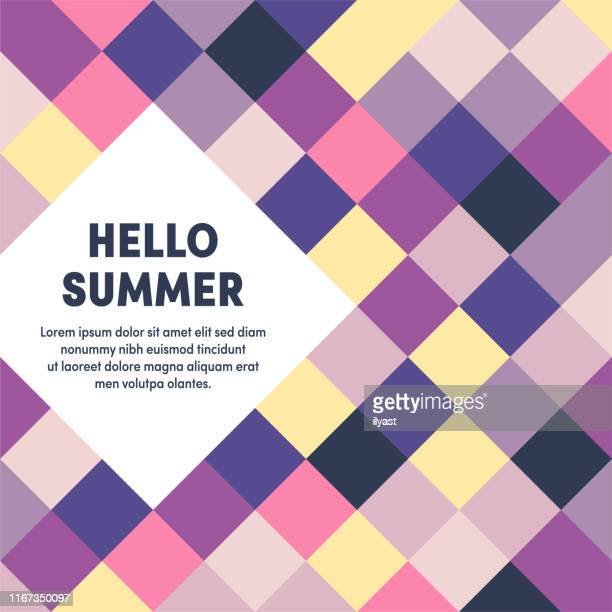 hello summer multipurpose business cover design - free wallpapers stock illustrations