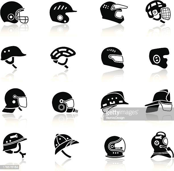 Helmet Icon Set