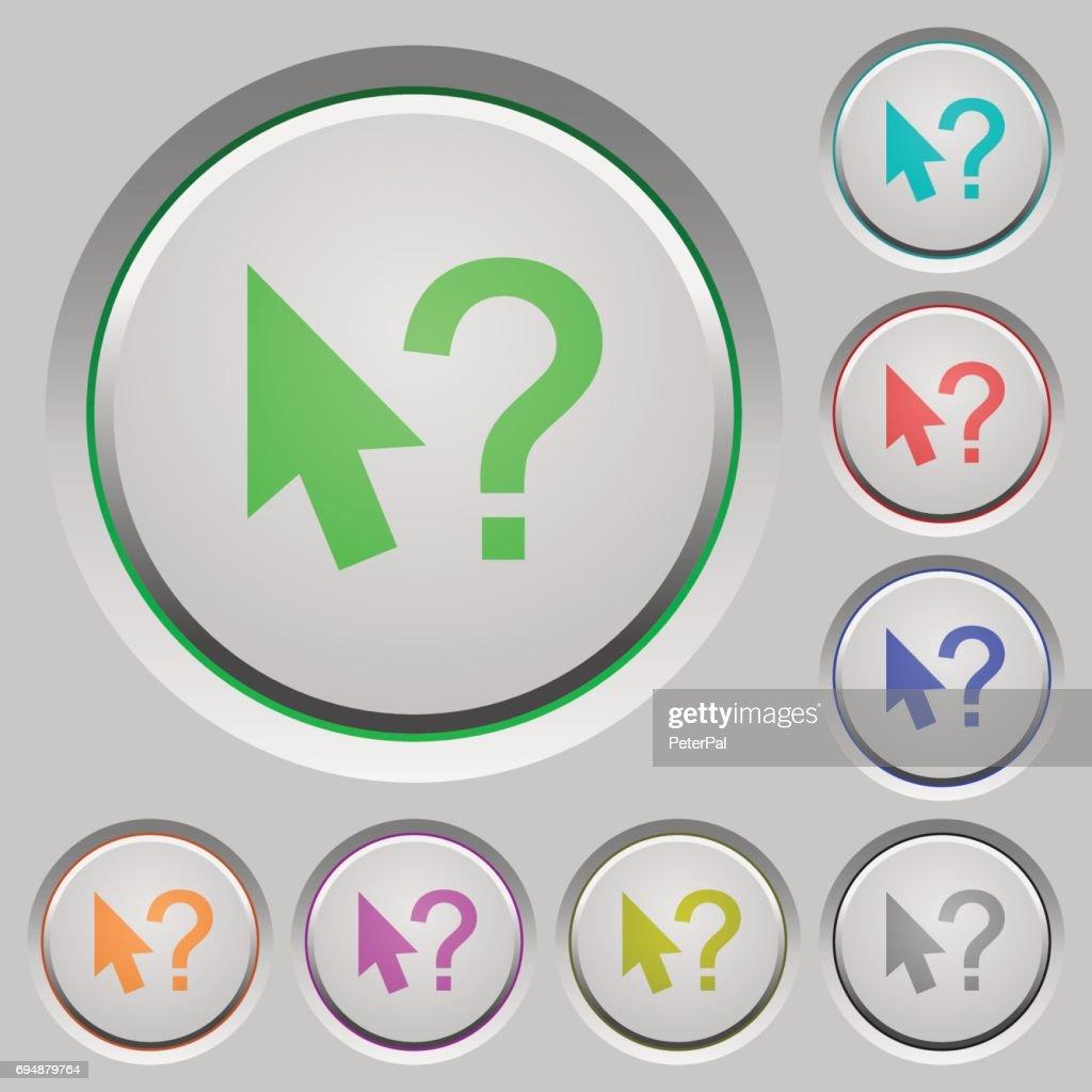 Help cursor push buttons