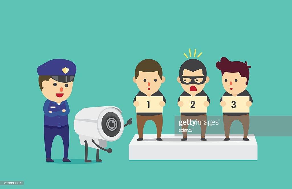 CCTV help police to identify suspect