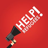 Help refugees in red