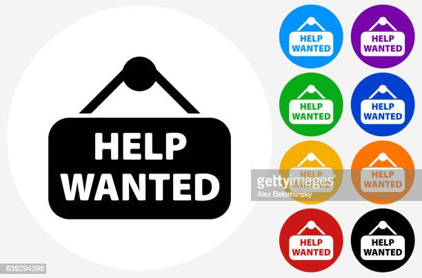 help wanted signのイラスト素材と絵 getty images