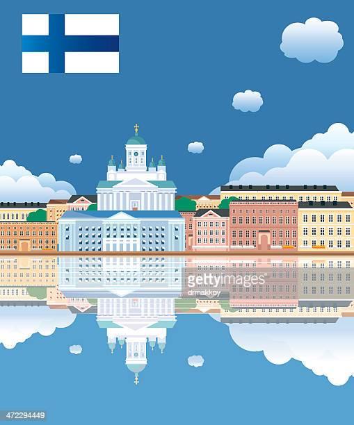 helsinki - helsinki stock illustrations, clip art, cartoons, & icons
