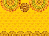 Henna Abstract mandala background