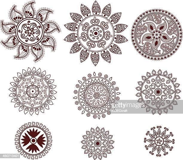 Henna Mini Circles