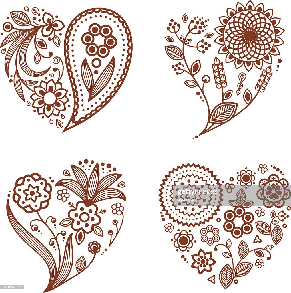 free download of paisley heart tattoo vector graphics and illustrations rh vector me paisley love heart tattoos Paisley Tattoo Art