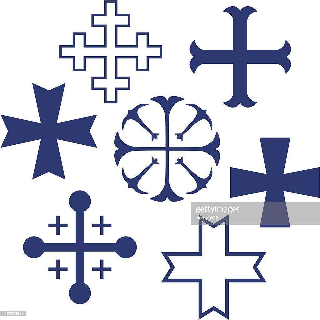 heraldic crosses