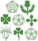 Heraldic Flowers