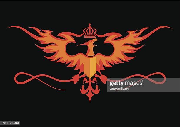 Heraldic de Phoenix
