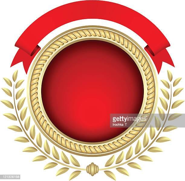 heraldic symbols - medallion stock illustrations, clip art, cartoons, & icons