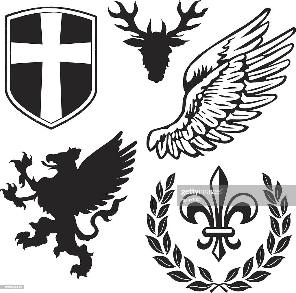 Heraldry Pack 1 with Griffin