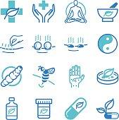 Herb and Alternative Medicine icons