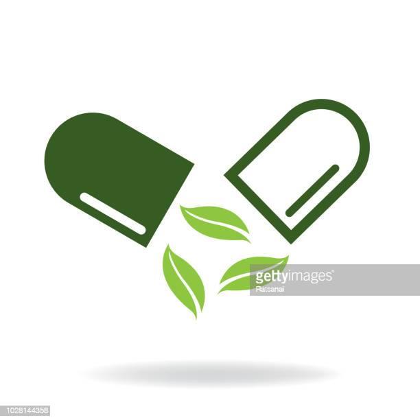 illustrations, cliparts, dessins animés et icônes de herbes de médecine - thérapie alternative