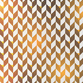 Herringbone abstract background. black colors surface pattern with chevron diagonal lines with golden light. Classic geometric ornament. Vector illustration. pattern is on swatches panel