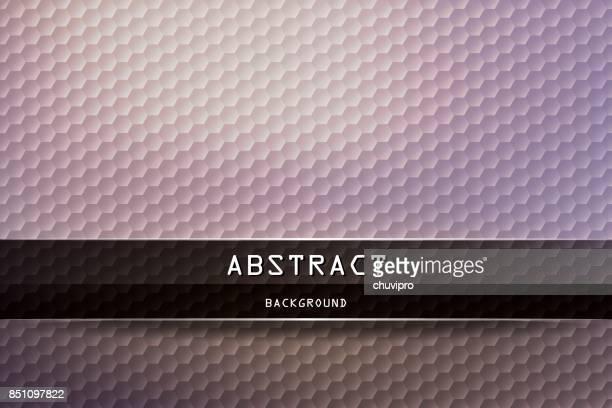 六角形水平の幾何学的な背景 - ベージュ、ラベンダー、ブラック - lavender color点のイラスト素材/クリップアート素材/マンガ素材/アイコン素材
