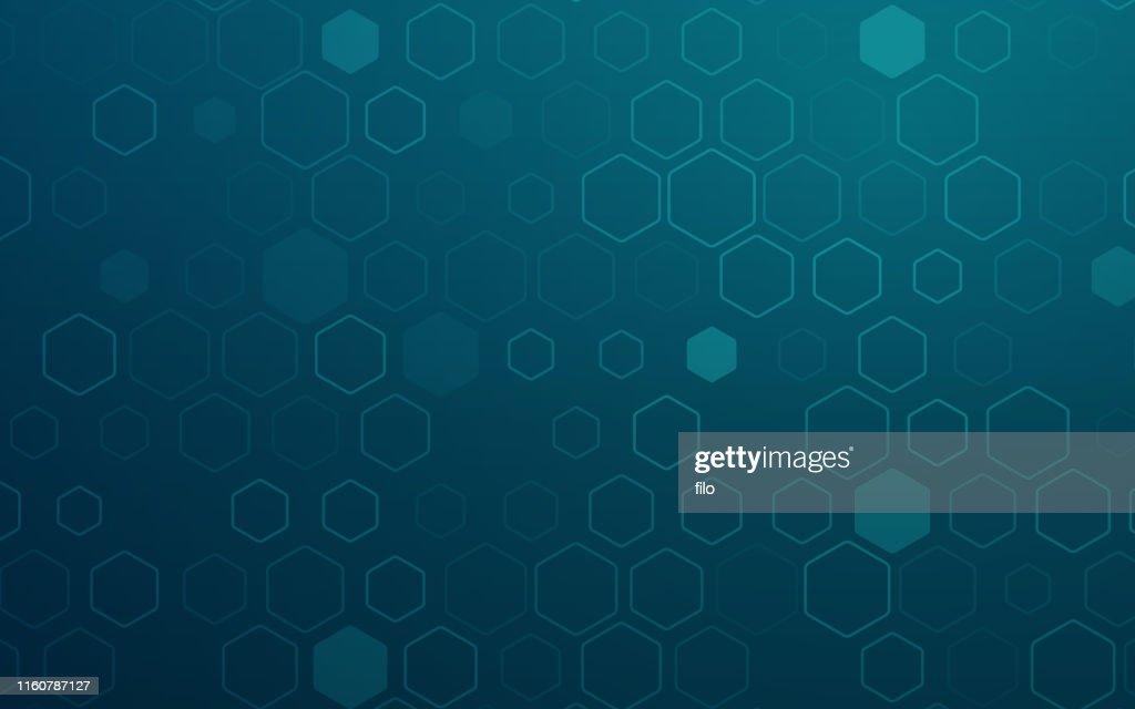 Hexagonal Abstract Background : stock illustration