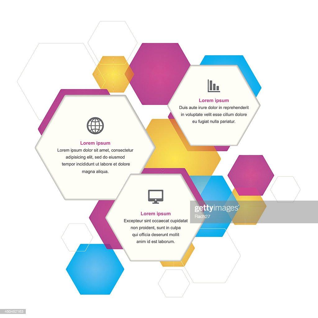 Hexagonal Business Background