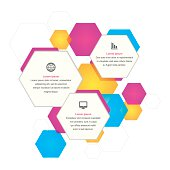 Hexagonal Business Background