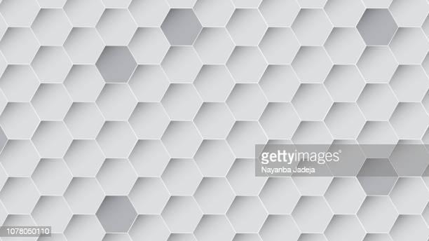 hexagonal seamless pattern honey bee - genetic mutation stock illustrations