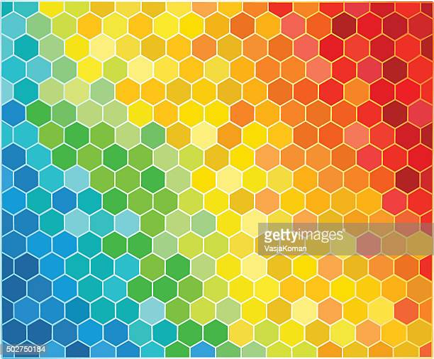 Hexagonal Shaped  Background