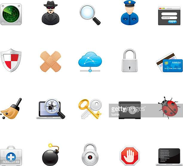 Hico icons — Security