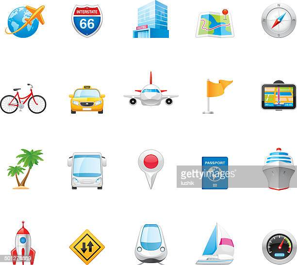 hico icons — transportation and travel - yellow taxi stock illustrations, clip art, cartoons, & icons