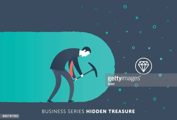 hidden treasure - reveal stock illustrations, clip art, cartoons, & icons