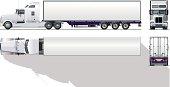 hi-detailed commercial semi-truck