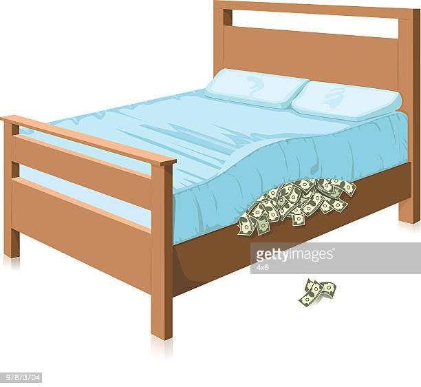 hiding cash - hidden stock illustrations, clip art, cartoons, & icons