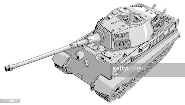 f47261d50b3a4 60 Top Chieftain Tank Stock Illustrations