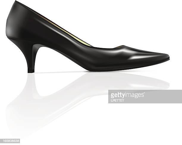 High Heel - Vector Illustration