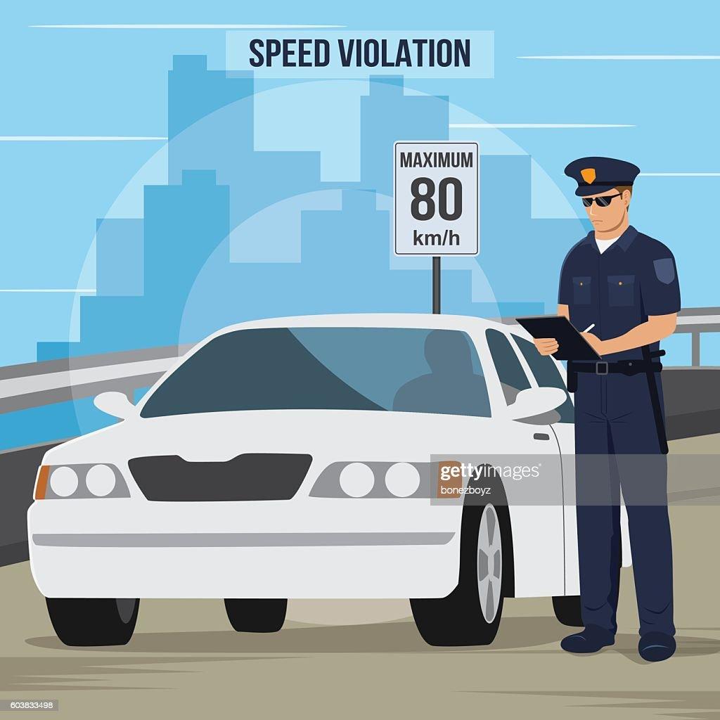 High Speed Traffic Violation