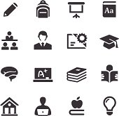 Higher Education Icons - Acme Series