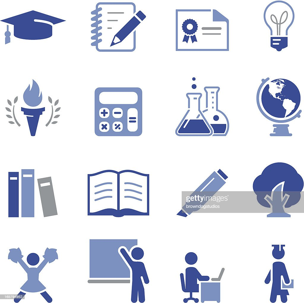 Higher Education Icons - Pro Series