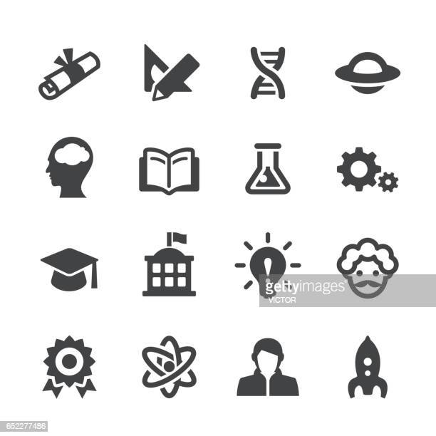 Higher Education Icons Set - Acme Series