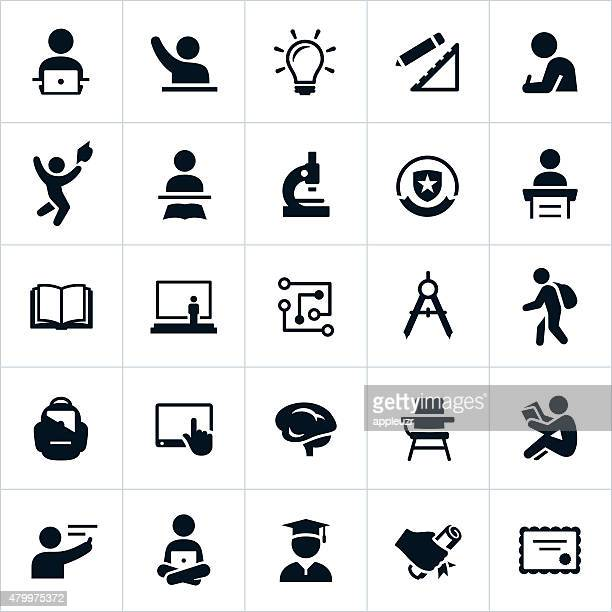 higher education icons - plant stem stock illustrations, clip art, cartoons, & icons