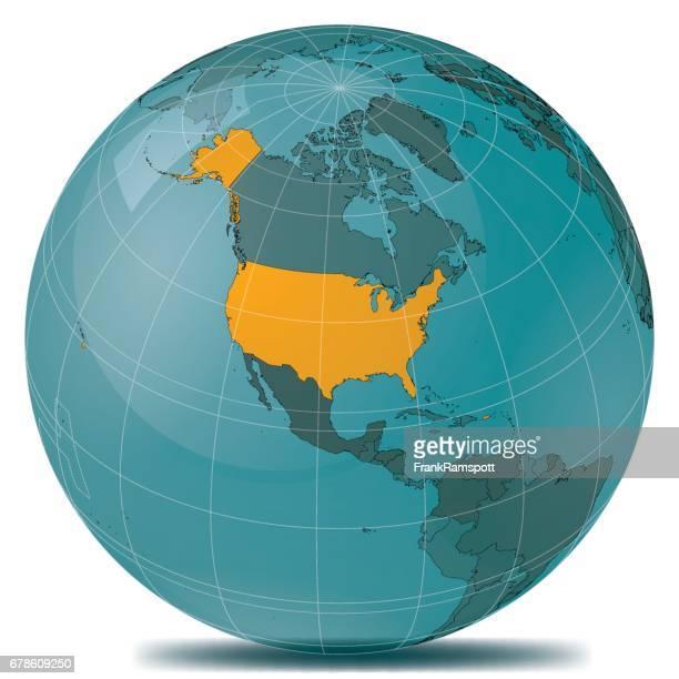 USA Highlight Planet Earth
