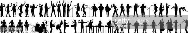 Musiciens très détaillées