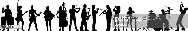 highly detailed musicians - bass instrument stock illustrations, clip art, cartoons, & icons